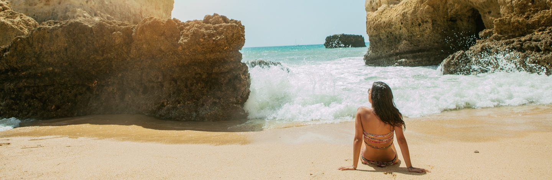 Sitting On A Beach,dona Ana,lagos